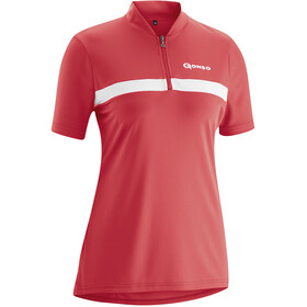 Gonso Rosa Bike Jersey Shortsleeve Women red
